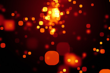 a stylish bokeh lights texture