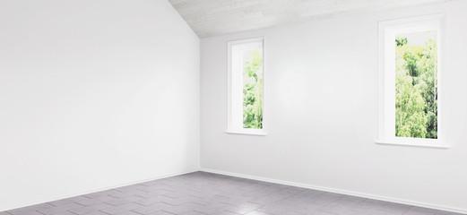 Renovated empty flat (panoramic)