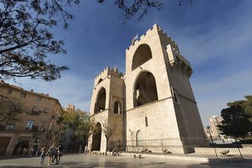 Towers of Serranos in Valencia