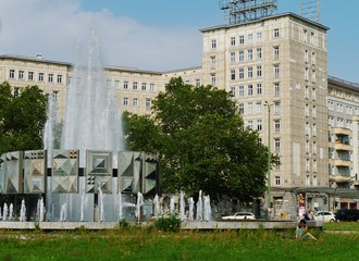 Strausberger Platz in Berlin