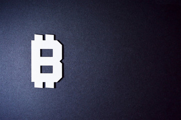 bitcoin currency symbol template