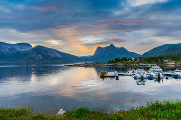 Fjord near Narvik