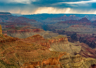 Grand Canyon Stormy Sunset