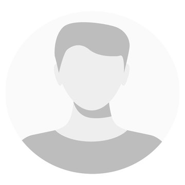 Default avatar profile icon. Grey photo placeholder.