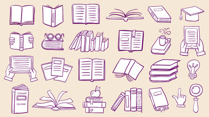 Book doodles