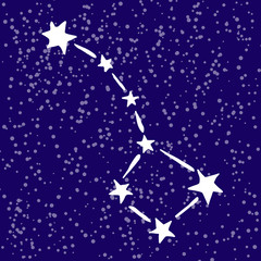 rgeat bear constellation in the sky