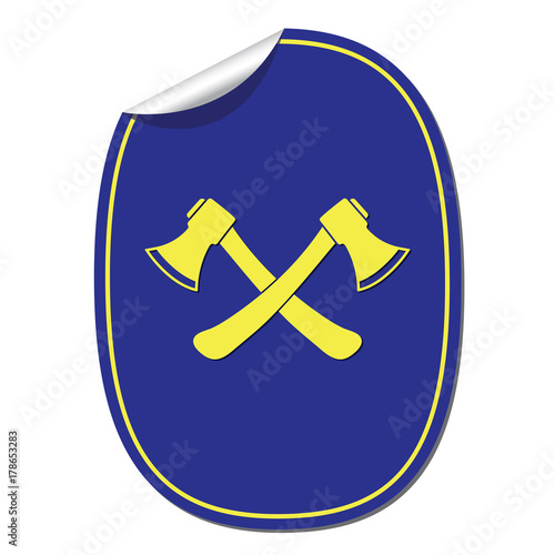 The Ax Icon Axe Symbol Stock Image And Royalty Free Vector Files