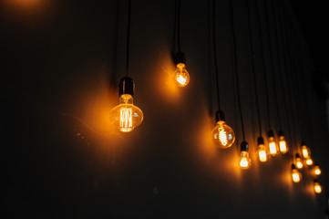 Vintage edison light bulbs