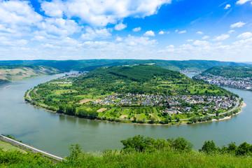 Rheinschleife Rheinbogen bei Boppard