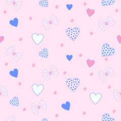 pink pattern heart love abstract