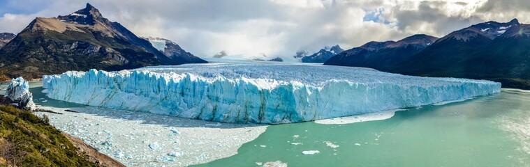 Perito Moreno Glacier in Los Glaciares National Park in El Calafate, Argentina, South America
