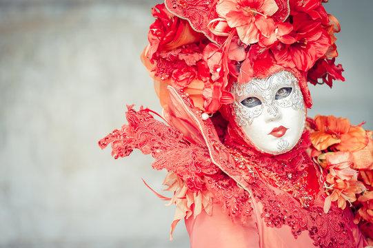 Personnage de carnaval vénitien