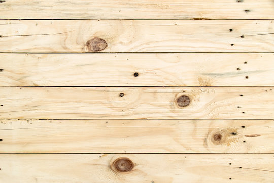 Soft yellow wood board texture and background
