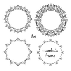 mandala set frame