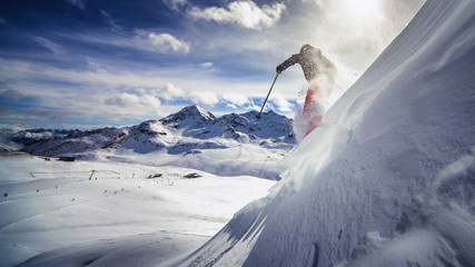 Freeride skiing