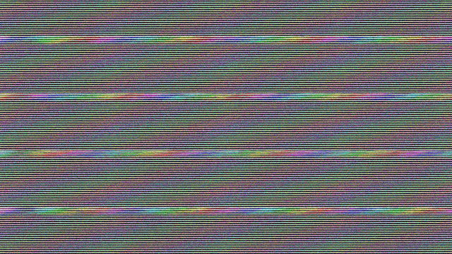Glitch TV Screen. Abstract background. Digital illustration. 3d rendering