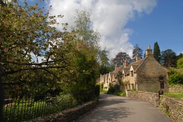 West Street in Castle Combe, Cotswolds, UK