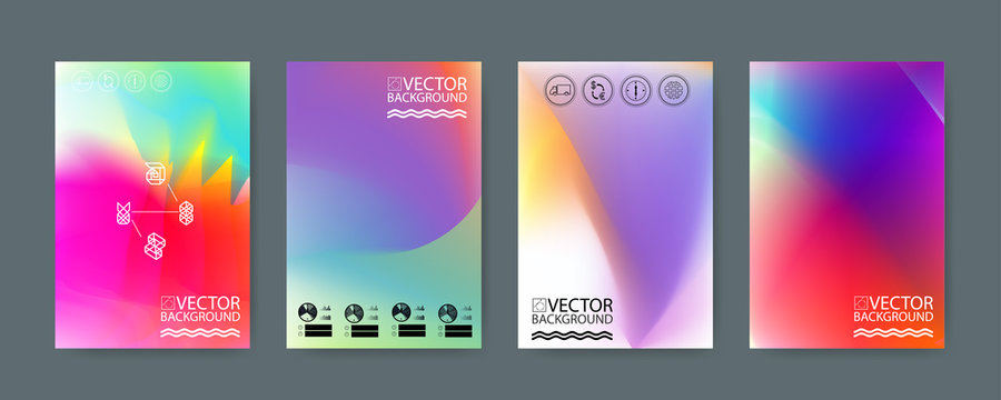 Geometric trendy illustration background, placard, hologram geometric style flat and 3d design elements. Retro art for covers, banners, flyers and posters.