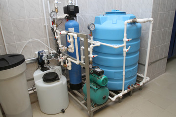 Chemical treatment of water