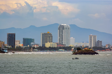 Vung Tau coastline. Vietnam.