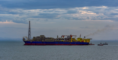 Floating production, storage and offloading (FPSO) vessel