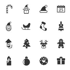 christmass icon set