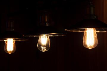 elegant antique hanging light