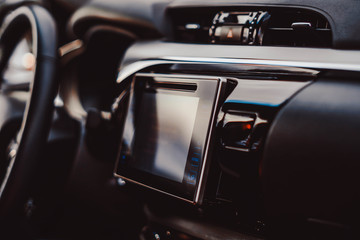the display of the car multimedia system