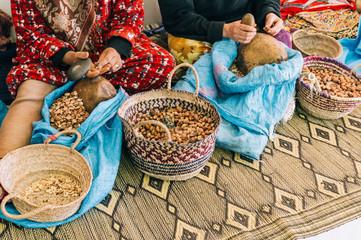 Moroccan argan nuts