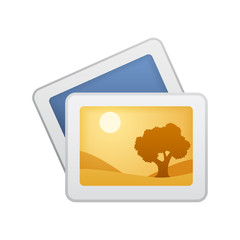 Photographs - Novo Icons. A professional, pixel-aligned icon designed on a 64 x 64 pixel.