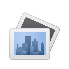 Cityscape Shot - Novo Icons. A professional, pixel-aligned icon designed on a 64 x 64 pixel.