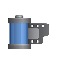 Film Canister - Novo Icons. A professional, pixel-aligned icon designed on a 64 x 64 pixel.