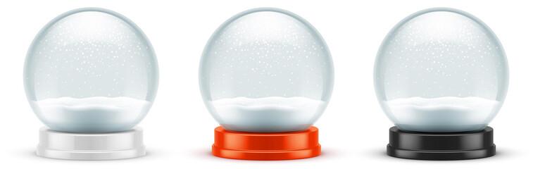 Boules à neige vectorielles 7