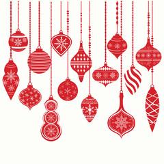 Christmas Ornaments,Christmas Balls Decorations, Christmas Hanging Decoration set.