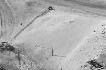 Pistas de nieve en Sierra Nevada
