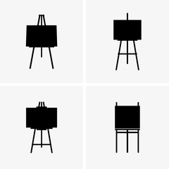 Lyre easels, shade picture