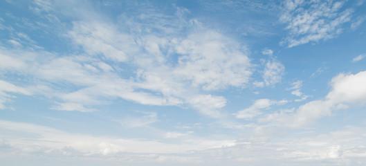 Spoed Fotobehang Hemel Sky and clouds tropical panorama