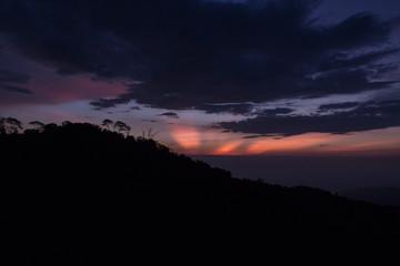 Light rays, Santa Marta 2017