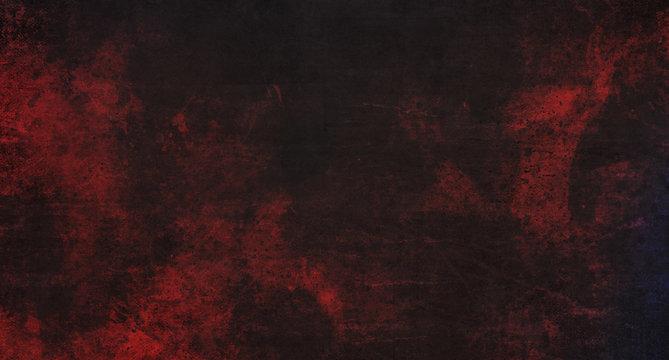 Abstract dark red grunge background 3D Rendering