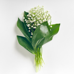 Wall Murals Lily of the valley Bouquet Lily Of The Valley