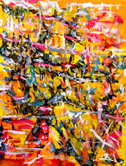 Abstraction with a certain colorful color