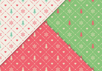 Christmas Pattern Set 1