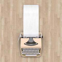 Beige typewriter