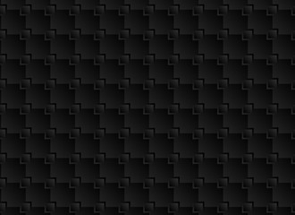 black geometric pattern texture abstract background. Vector background
