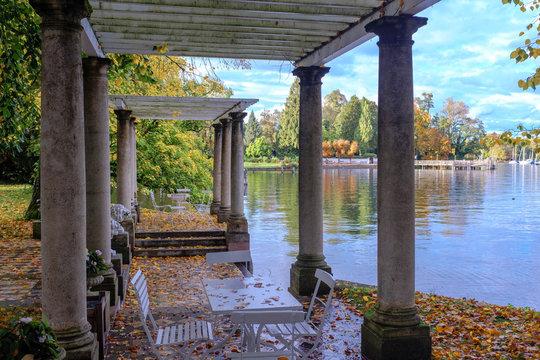 Herbst im Schlosspark Tutzing