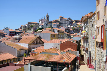 Tiled roofs of Porto