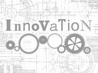 Innovation Graph Paper Tech Drawing