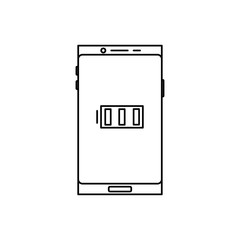 smartphone full battery icon