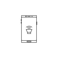 smartphone loud sound icon