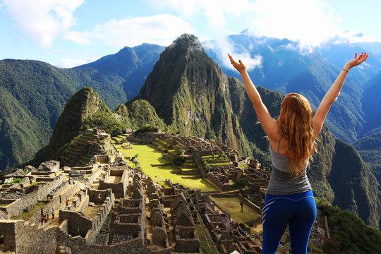 Machu Picchu Tourist